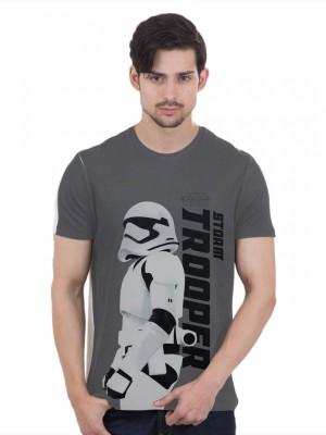 Star Wars Graphic Print Men's Round Neck T-Shirt