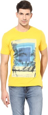 Richlook Printed Men's Round Neck Reversible T-Shirt