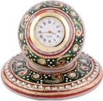 Jupiter Gifts And Crafts Table Clocks Jupiter Gifts And Crafts Analog Green Clock