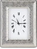 Cherrytin Hammer Sterling Silver Analog Clock - Silver