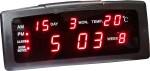Surya Digital Red Clock