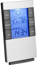Aptron Table Clocks Aptron Digital Grey Clock