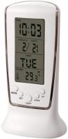Gromo Backlit Time Display Digital Time Display Digital Clock Clock - White