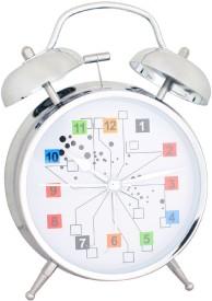 JM Analog White Clock