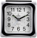 Horo HR098-002 Table Clock - Black, Grey