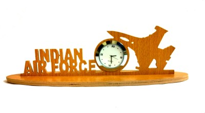 Panache Table Clocks Panache Analog Brown Clock