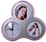 Aptron Table Clocks Aptron Analog Silver Clock