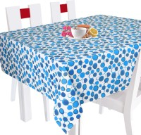 Smart Home Geometric 10 Seater Table Cover Blue, Cotton