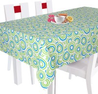 Smart Home Geometric 2 Seater Table Cover Green, Cotton