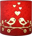 Craftter Love Bird Wall Lamp Table Lamp - Pink