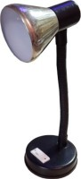 Micron Steel Cap With Free 5wLED Table Lamp (25 Cm, Black)