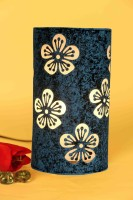 Height Of Designs Blue Flower Table Lamp (21.59 Cm, Blue)