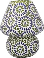 Lime Light Mosaic Decoratives LL07 Table Lamp (22.86 Cm, Multicolor)