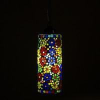 Smile2u Retailers Stone Mosaic Hand Work Night Lamp (60 Cm, Multicolor)