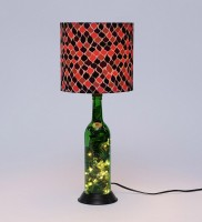 What Scrap Led Bottle Lamp Table Lamp (50 Cm, Multicolor)