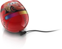 Philips Disney Living Colors Micro Cars Night Lamp (12 Cm, RED)