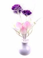 ShadowFax Avatar Mushroom Sensor LED Color Changing Light Table Lamp (4.5 Cm, Purple)