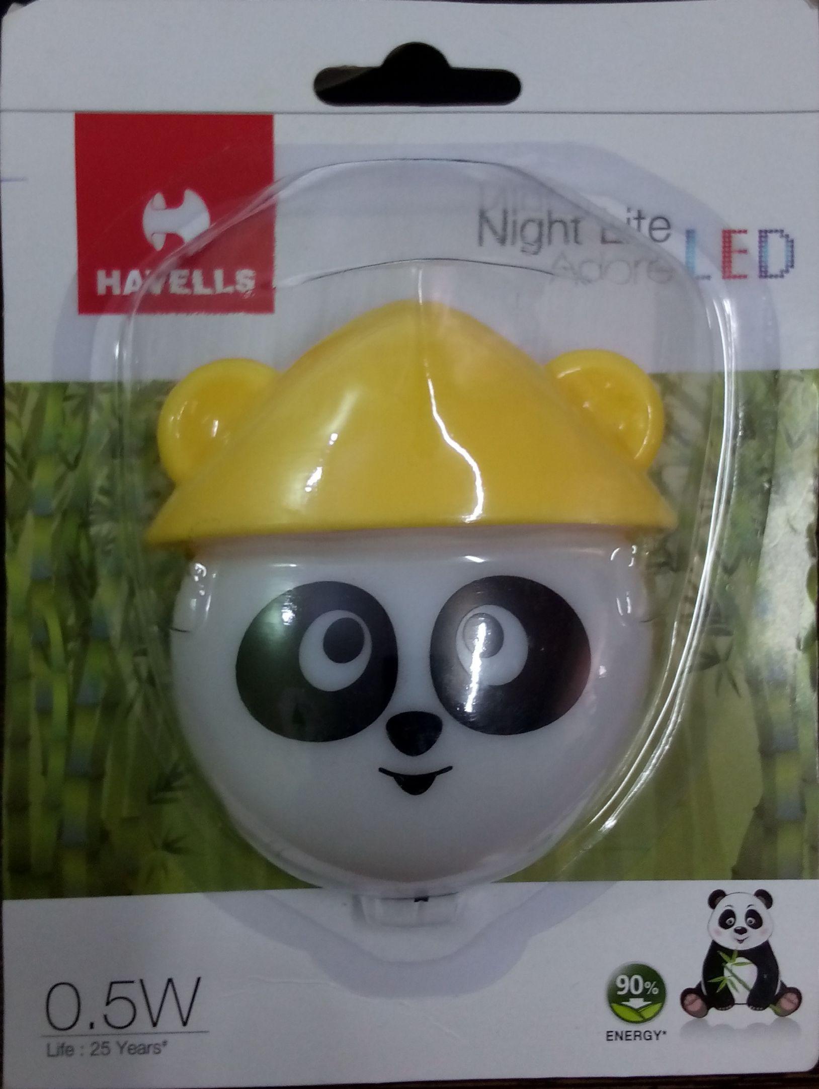 Buy led night lamp online india - Havells Kung Fu Panda Night Lamp