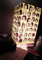 Calmisry Popfaces Table Lamp (27.5 Cm, Multicolor)