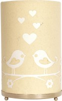 Craftter Round Love Bird Table Lamp (Yellow)