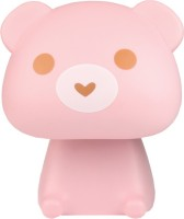 Ek Retail Shop Bear Shape Study Lamp (22 Cm, PINK)