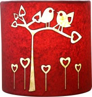 Craftter Bird On Tree Wall Lamp Table Lamp (Pink)