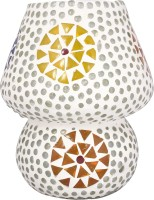 Lime Light Mosaic Decoratives LS10 Table Lamp (16.51 Cm, Multicolor)
