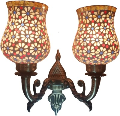 Wall Lamps Flipkart : 65% OFF on Weldecor Antiqua Brasso Stars with Glass Work Wall Lamp on Flipkart PaisaWapas.com
