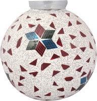 Lime Light Mosaic Decoratives LL18 Table Lamp (21.59 Cm, Multicolor)