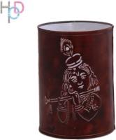 Height Of Designs Krishna Night Lamp (15 Cm, Brown)