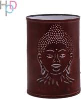 Height Of Designs Budha Night Lamp (15 Cm, Brown)