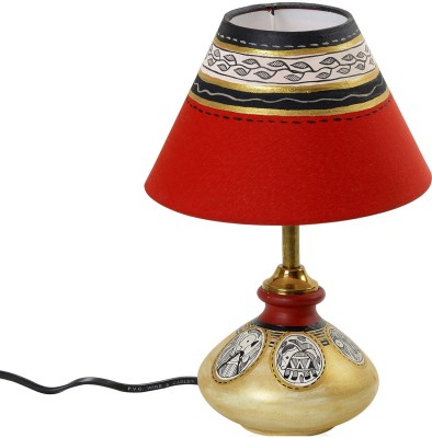 Aapno rajasthan decorative hand painted terracotta table for Table lamp flipkart