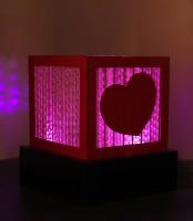 Sylvn Studio Amor Small Table Lamp (Pink)