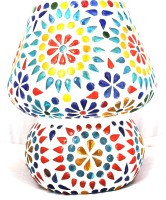 Lime Light Mosaic Decoratives LS09 Table Lamp (16.51 Cm, Multicolor)