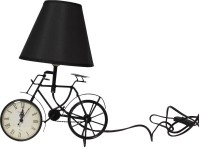 The Craz Me Lighten Up Your Time Vintage Cycle Table Lamp (40 Cm, Black)