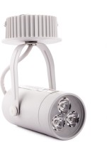 Cosmic Rio Led Light 3w With Base Warm White 3000k Ceiling Lamp (13 Cm, White)