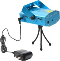 Homes Decor Disco Party Mini Laser Light Projector Night Lamp (4 Cm, Blue)