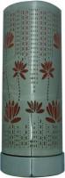 Abee Red Fancy Tube Shape Flower Design Touch Sensor Fragrance Table Lamp (Multicolor)