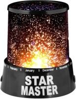 Dizionario Romantic Sky Star Master Projector Light Night Lamp (13 Cm, Black)
