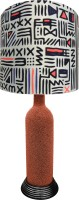 What Scrap Aztec Jugnu Table Lamp (50 Cm, Multicolor)