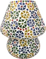 Lime Light Mosaic Decoratives LL04 Table Lamp (22.86 Cm, Multicolor)