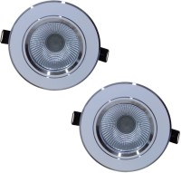 Bene Downlight 3w, Color Of Led: White Ceiling Lamp (7.5 Cm, Color Of Fixture White, Color Of LED White) - TLPEA7B5RE99GRM7