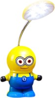 Tuelip New Minion Baby Boys Despicable Me Flexible For Studying,Desk,Portable,Emergency,Out Door Table Lamp (26.5 Cm, Blue)