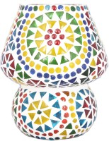 Lime Light Mosaic Decoratives LS02 Table Lamp (16.51 Cm, Multicolor)