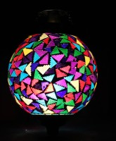 Lime Light Mosaic Decoratives LL11 Ceiling Lamp (21.59 Cm, Multicolor)
