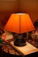 Yashasvi Qualdi Yellow Table Lamp Table Lamp (28 Cm, Yellow)