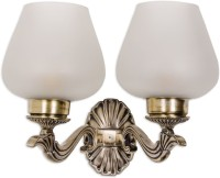 Fos Lighting Allure Small Double Wall Sconce Night Lamp (25.4 Cm, Gold)