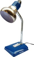 Wemex Metal King Series Oxford Blue Table Lamp (38 Cm, Blue)
