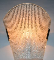 Kaltron Mosaic Wall Light Wall Lamp (23 Cm, White Glass)