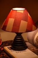 Yashasvi Exodus Red Table Lamp Table Lamp (27 Cm, Multicolor)